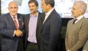 Ciano y Rudolph Giuliani,
