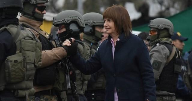 controles-elecciones-ministra de seguridad